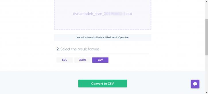 DynamoDBをJSON出力 + CSV変換   Oji-Cloud